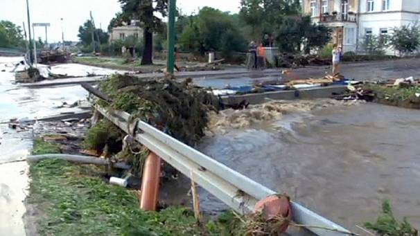 Poland: heavy storms cause serious floods