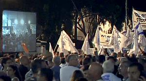 Israelis march for military service reform