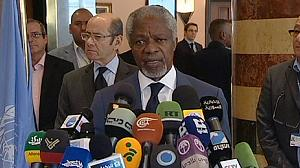 "Annan says talks with Assad ""positive"""