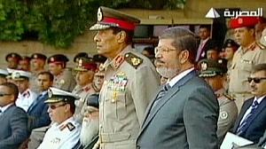 Morsi and Egypt's military poised for showdown