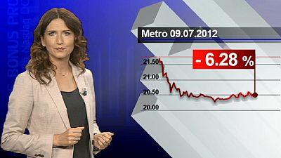 Le distributeur allemand Metro fait les frais du pessimisme de son patron