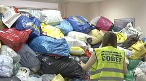Relief effort aids Russia flood victims