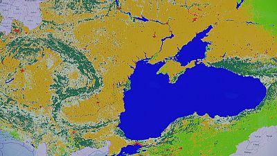 Mapas: o colorido, no Mar Negro