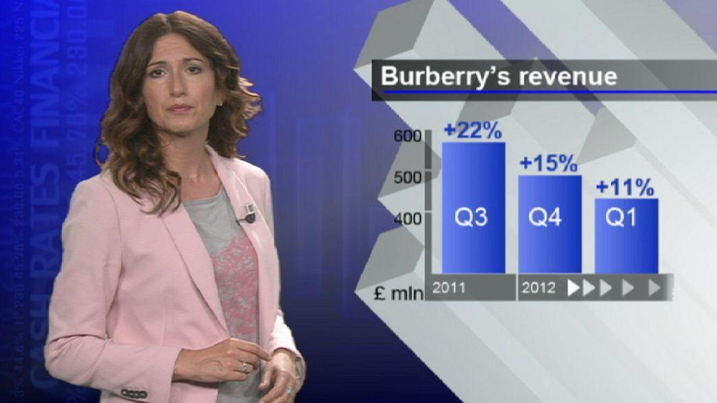 Burberry: tonfo alla borsa di Londra