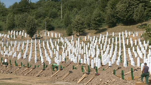 Srebrenica's yearly burial of atrocity victims