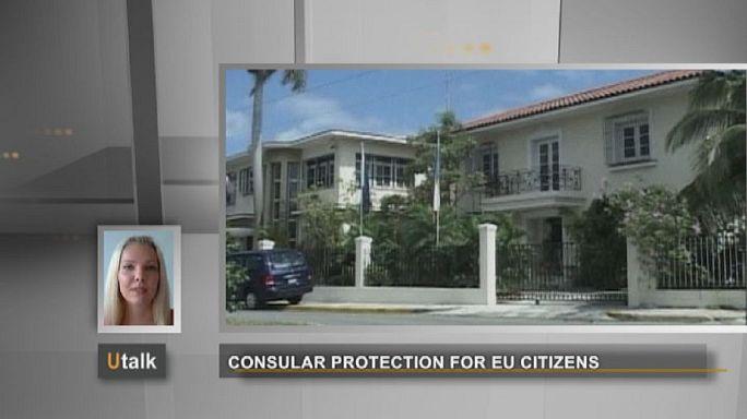 الحماية القنصلية لمواطني الإتحاد الأوربي