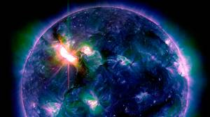 Solar Flare to cause storms when it hits Earth on Saturday
