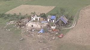 Poland cleans up after devastating tornadoes