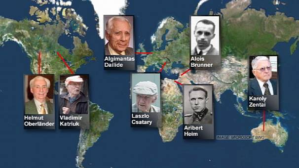 I criminali nazisti più ricercati