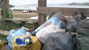 Rubbish removed from Russia's Lake Baikal