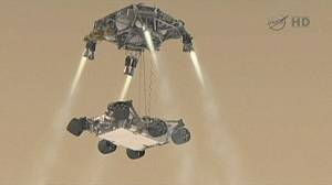 NASA's Mars rover readies for a rough landing