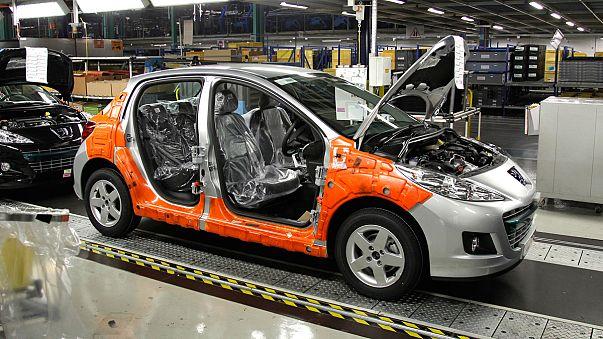 Autoverkäufe in Europa gehen weiter zurück