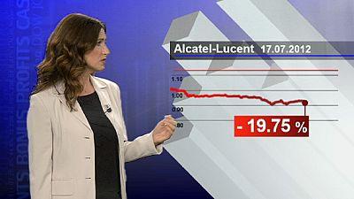 Alcatel-Lucent punida por alerta sobre resultados