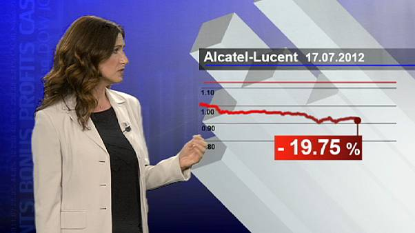 Alcatel- Lucent paga caro l'avvertimento