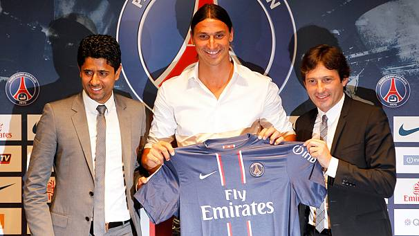 Ibrahimovic completes move to PSG