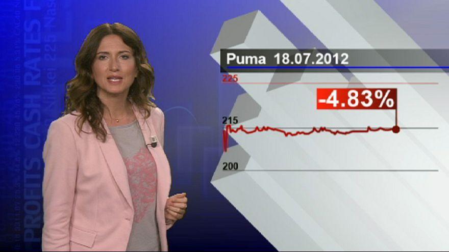 Crise europeia atinge lucros da Puma
