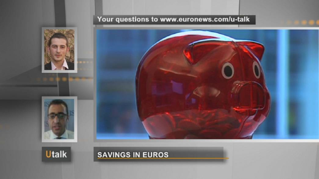 Savings in euros