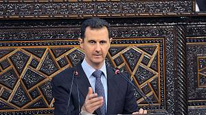 Where is Bashar al Assad?