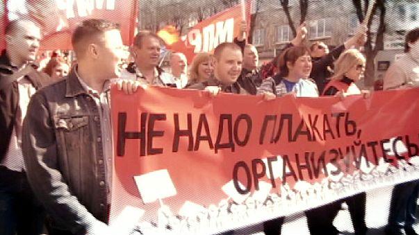 Russlands neue Arbeitergewerkschaften