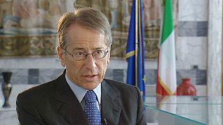 """""""Italia defiende una mayor integración europea"""", Giulio Terzi, ministro italiano de Asuntos Exteriores"""