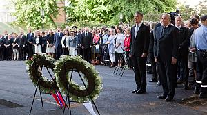 Victims of Norway massacre are remembered