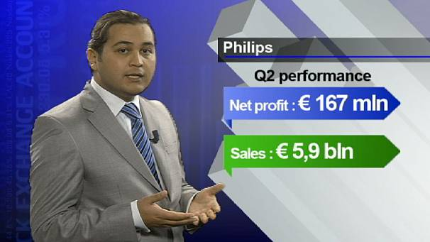 Philips defies black Monday