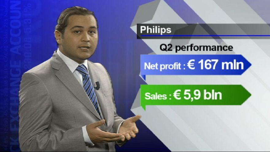 Philips defies black Monday