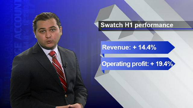 Swatch looks to good times ahead