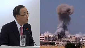 UN chief urges action on Syria
