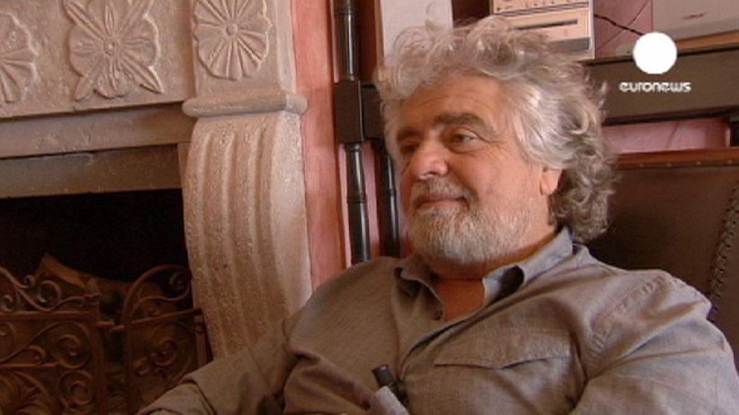 """Beppe Grillo """"uncensored"""""""