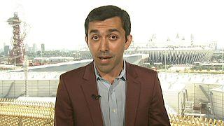 """""""L'armosphère à Londres est fantastique"""", Ali Sheikoslami, correspondant d'Euronews"""