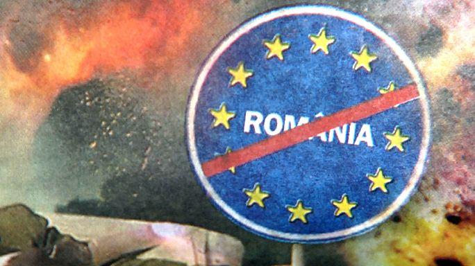 الصراع على السلطة في رومانيا