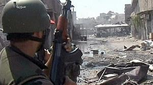 Syria army begins bombarding second city Aleppo
