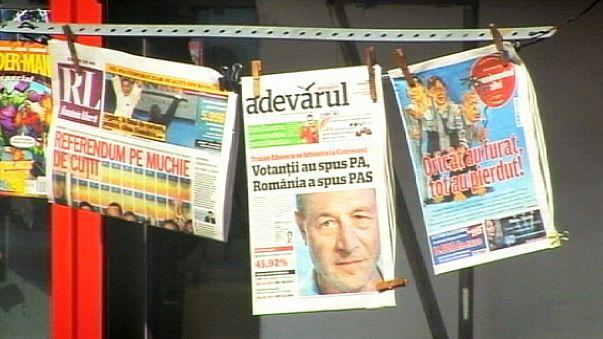 EU and Romania impeachment referendum