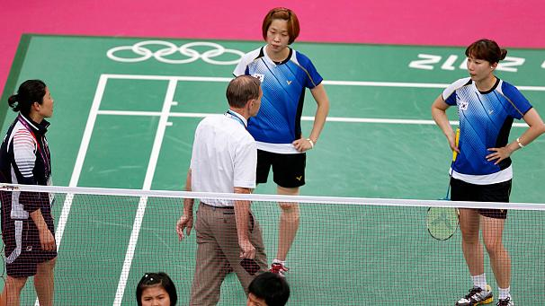 Eight Olympic badminton players expelled for 'not trying'