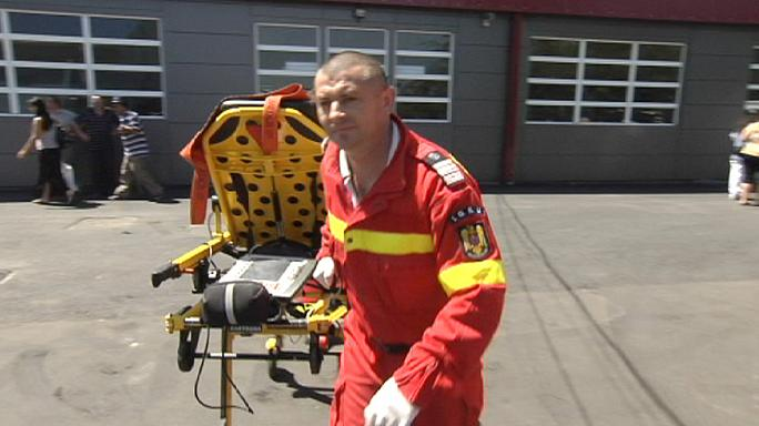 """Румынские спасатели: """"ангелы в красном"""""""