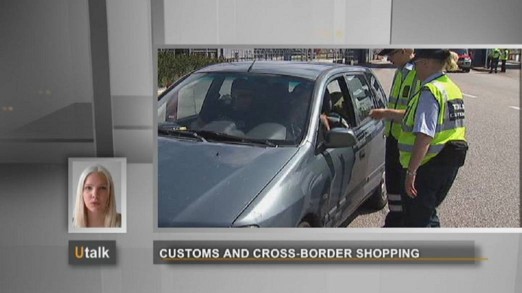 Restrictions on goods when travelling around Europe