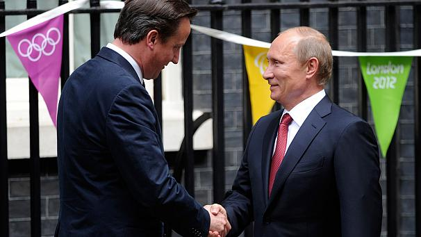 Russia and Britain: Olympic diplomacy