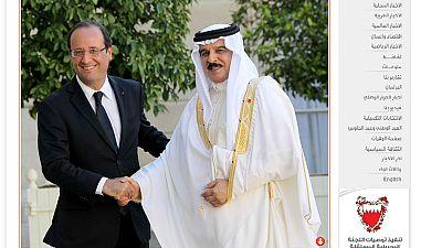 La visite du roi Hamad de Bahreïn à l'Elysée passée sous silence