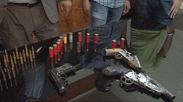Mısır'da silah ve uyuşturucu kaçakçılarına 'Baskın' operasyonları