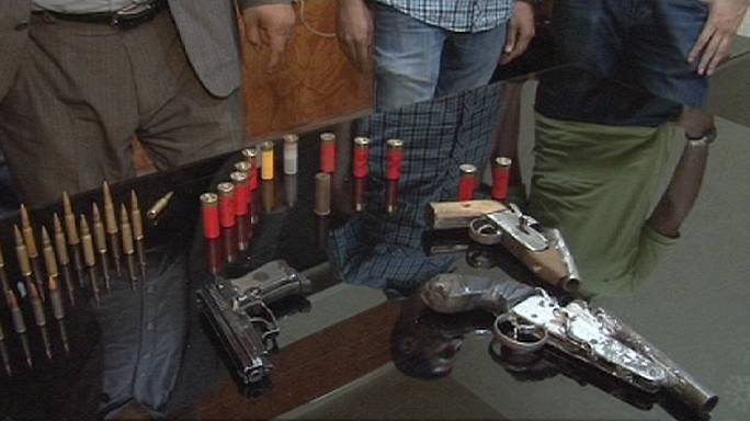 Cairo police alarm at growing illegal arms trade