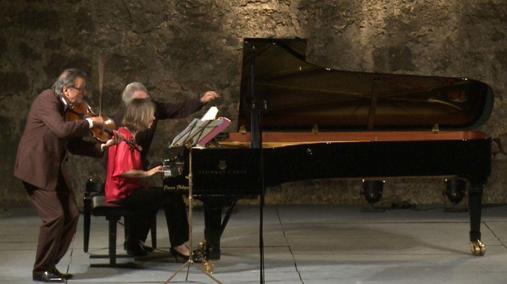 Música de cámara al aire libre en la Provenza francesa