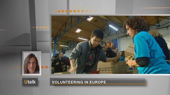 Freiwilligenarbeit in Europa