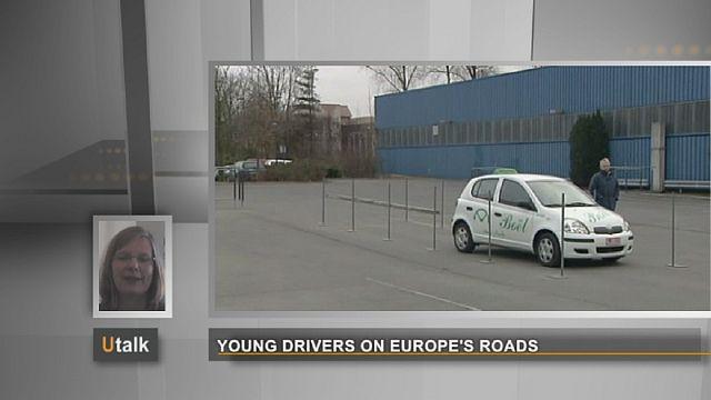 Les jeunes conducteurs sur les routes d'Europe