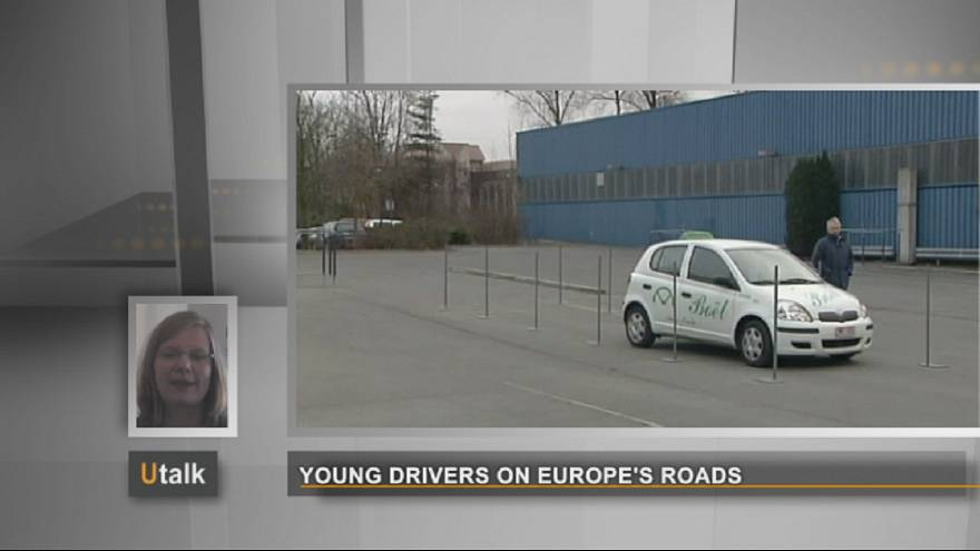 Young drivers on Europe's roads