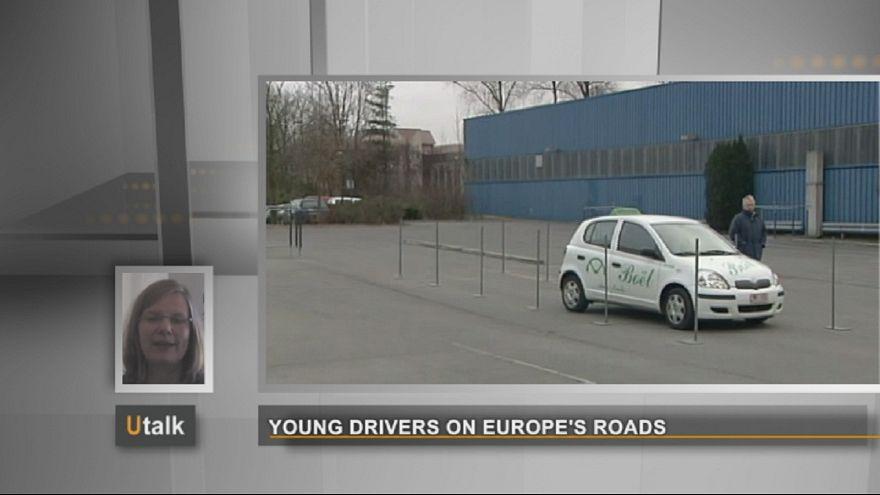 Los jóvenes conductores de las carreteras europeas