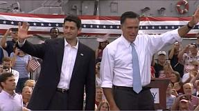 Reps Romney and Ryan in race for White House