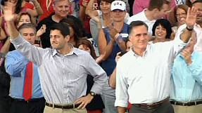 Obama and Romney step up fight over fiscal policy