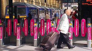 Rail fare hike prompts protests in UK