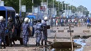 Togo police break up protest calling for reform
